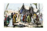 Muslims' Capitulation at Acre During the Third Crusade, 1191 AD Photographic Print