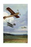 Airplane Flights at Rheims, France, During Aviation Week, 1909 Photographic Print
