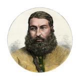 Abd-Ur-Rahman Khan, Emir of Kabul and Ruler of Afghanistan, Late 1800s. Giclee Print