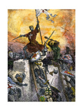 Conquest of Constantinople During the Fourth Crusade, 1204 Giclee Print