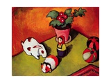 Little Walter's Toys Giclee Print by Auguste Macke