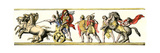 Trimphal Entry of Alexander the Great Into Babylon Giclee Print
