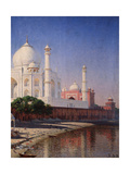 The Taj Mahal At Agra Giclee Print by Vasili Vasilyevich Vereshchagin