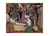 The Decease of Grand Duke Dmitri Donskoi of Moscow Giclee Print by Vasili Vasilyevich Vladimirov