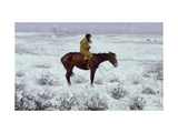 The Herd Boy Giclee Print by Frederic Sackrider Remington