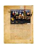Noahos Ark (Miniature From Hafiz-i Abruos Majma Al-tawarikh) Giclee Print