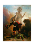 Don Juan And the Statue of the Commander Giclee Print by Alexandre Evariste Fragonard