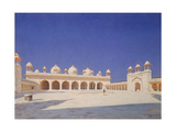 The Pearl Mosque (Moti Masjid) in Red Fort of Agra Giclee Print by Vasili Vasilyevich Vereshchagin