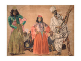 Musiciants in Srinagar Giclee Print by Alexander Yevgenyevich Yakovlev