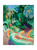 Garden Giclee Print by Francisco Iturrino