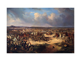 The Battle of Paris on March 17, 1814 Giclee Print by Gottfried Willewalde
