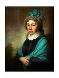 Portrait of Anna Sergeyevna Bezobrazova Giclee Print by Vladimir Lukich Borovikovsky