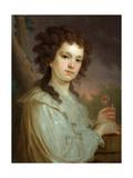 Portrait of Olga Kuzminichna Filippova (1772-1829) Giclee Print by Vladimir Lukich Borovikovsky
