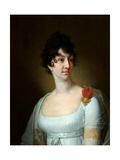 Portrait of Sophia Alexeyevna Rayevskaya Giclee Print by Vladimir Lukich Borovikovsky