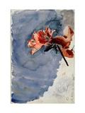 Red Azalea Giclee Print by Mikhail Alexandrovich Vrubel