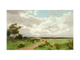 Near Liverpool, New South Wales Giclee Print by William Charles Piguenit