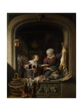 A Poulterer's Shop Giclee Print by Gerard Dou