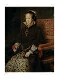 Portrait of Mary I of England Giclee Print by Antonis Mor