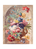 Flower Still Life Giclee Print by Jan van Huysum