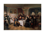 Merchant's Funeral Banquet Giclee Print by Firs Sergeevich Zhuravlev