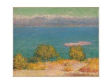 The Bay of Nice Giclee Print by John Peter Russell