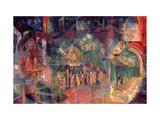 A Bar Giclee Print by Georgi Bogdanovich Yakulov