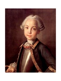 Portrait of Count Nikolai Petrovich Sheremetev As Child Giclee Print by Ivan Petrovich Argunov
