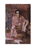 Fortune-teller Giclee Print by Mikhail Alexandrovich Vrubel