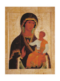 Icon of the Virgin Hodegetria Giclee Print by  Dionysius