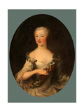 Portrait of a Woman Giclee Print by Francois-Hubert Drouais
