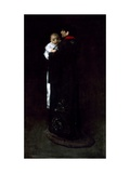 Mother And Child (The First Portrait) Giclee Print by William Merritt Chase