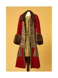 Winter Coat And Waistcoat of Peter the Great Giclee Print