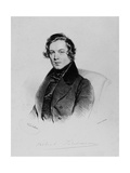 Robert Schumann (1810-1856) Giclee Print by Josef Kriehuber