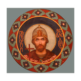 Saint Georgy II Vsevolodovich (1189-1238), Grand Prince of Vladimir Giclee Print