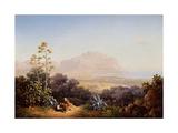 View of Palermo Giclee Print by Sokrat Maximovich Vorobyev