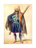 A Circassian (From: Scenes, Paysages, Meurs Et Costumes Du Caucase) Giclee Print