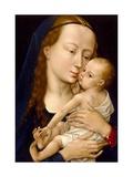 Virgin And Child Giclee Print by Rogier Van DerWeyden