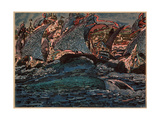 Sailing Boats Giclee Print by Mikhail Alexandrovich Vrubel