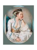 Woman in Turkish Dress Giclee Print by Jean-Etienne Liotard