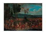 The Ambassadorial Procession Giclee Print by Jean-Baptiste Vanmour
