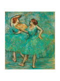 Two Dancers Giclee Print by Edgar Degas