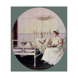 A Letter to Mother Giclee Print by Vasili Vasilyevich Vereshchagin