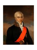 Portrait of Count Alexei Kirillovich Razumovsky (1748-1822) Giclee Print by Carl Schulz