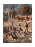 Fossickers Giclee Print by Walter Herbert Withers