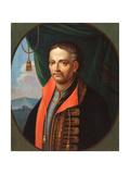 Portrait of the Hetman Ivan Mazepa (1639-1709) Giclee Print by Stepan Zemlykov