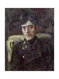 Portrait of the Artist Nikolai Feofilaktov (1878-1941) Giclee Print by Konstantin Fyodorovich Yuon