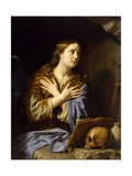 The Repentant Magdalen Giclee Print by Philippe DeChampaigne