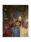 Rendezvous Giclee Print by Konstantin Andreyevich Somov