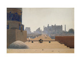 Main Street in Samarkand Early in the Morning Giclee Print by Vasili Vasilyevich Vereshchagin