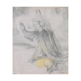 Virgin And Child in the Clouds Giclée-tryk af Matthias Grünewald